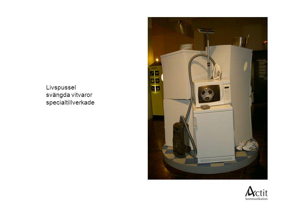 Livspussel svängda vitvaror specialtillverkade