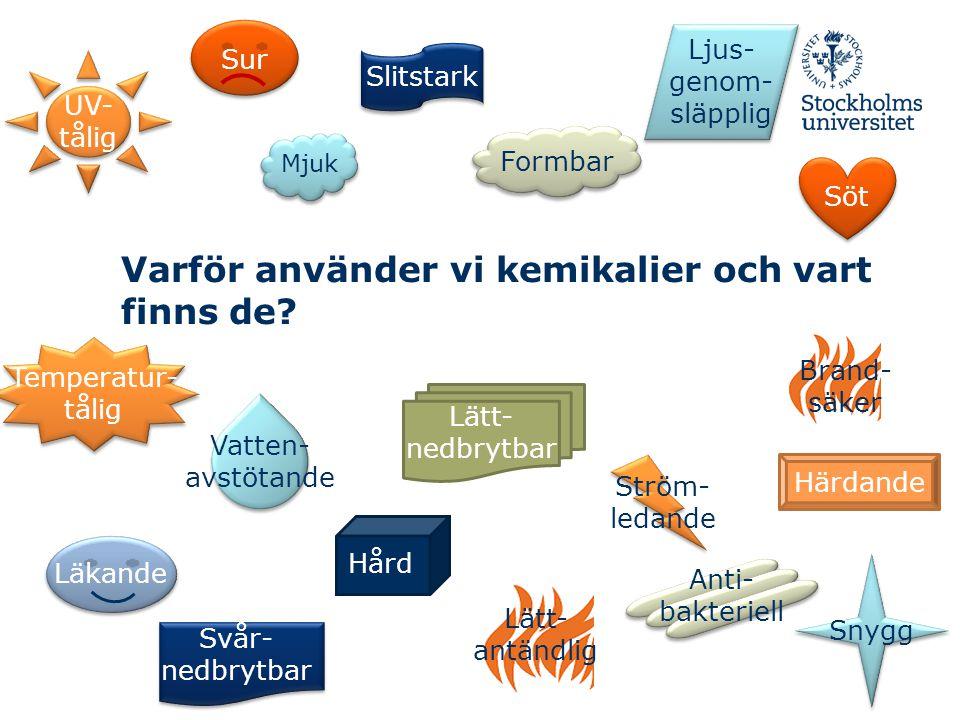 Sängdammet en hälsofara Sydsvenskan, 2011-09-14 Kläder återkallas efter cancerlarm DN, 2011-08-11 Din julklapp kan vara en giftbomb Aftonbladet, 2010-12-23 Är kemikalier farliga?