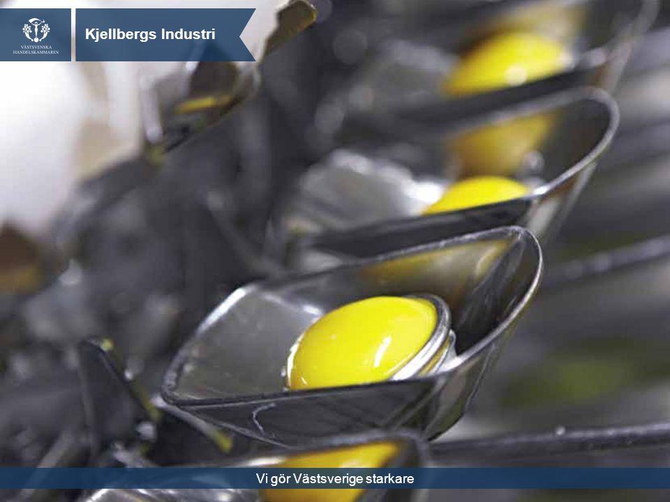 Vi gör Västsverige starkare Kjellbergs Industri