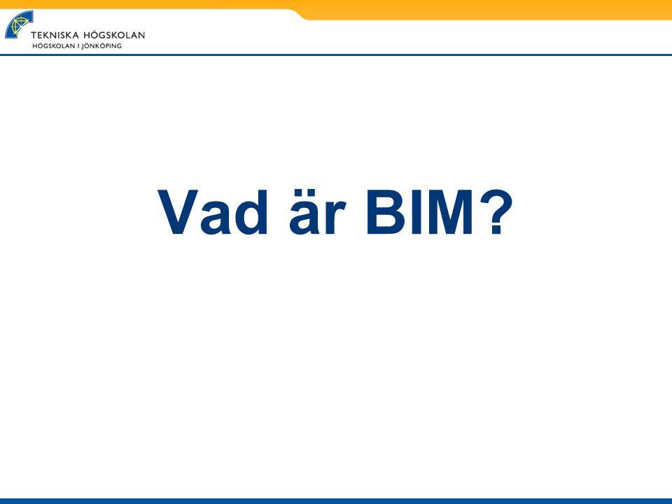 Vad är BIM?