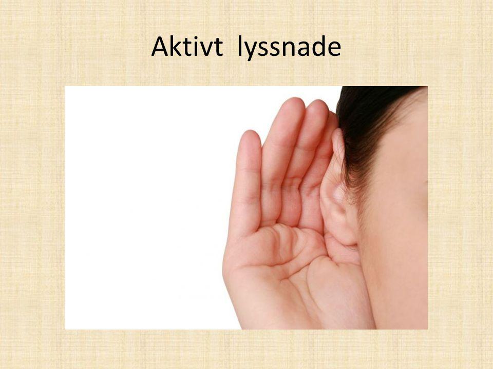 Aktivt lyssnade