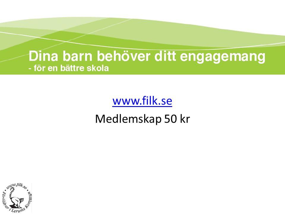 www.filk.se Medlemskap 50 kr