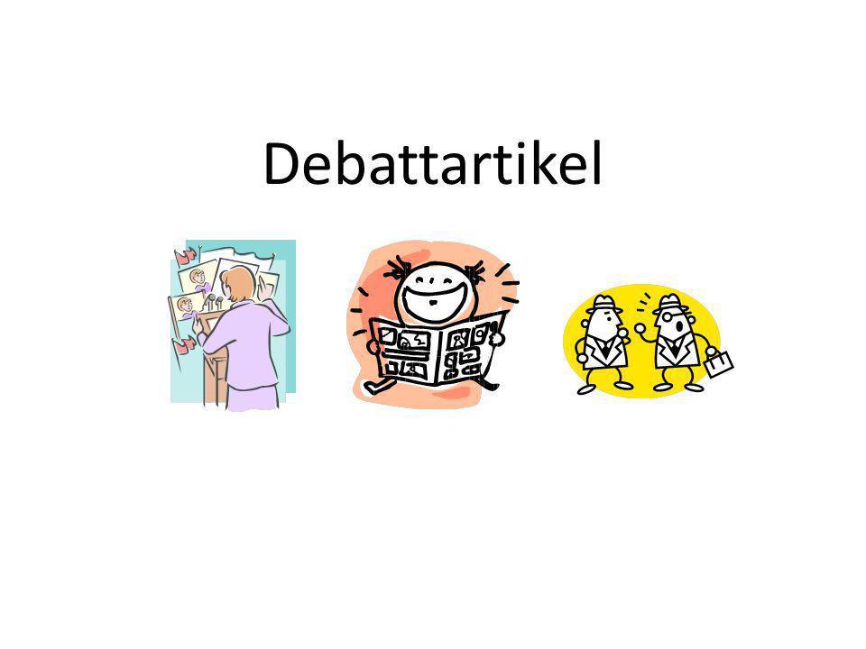 Debattartikel