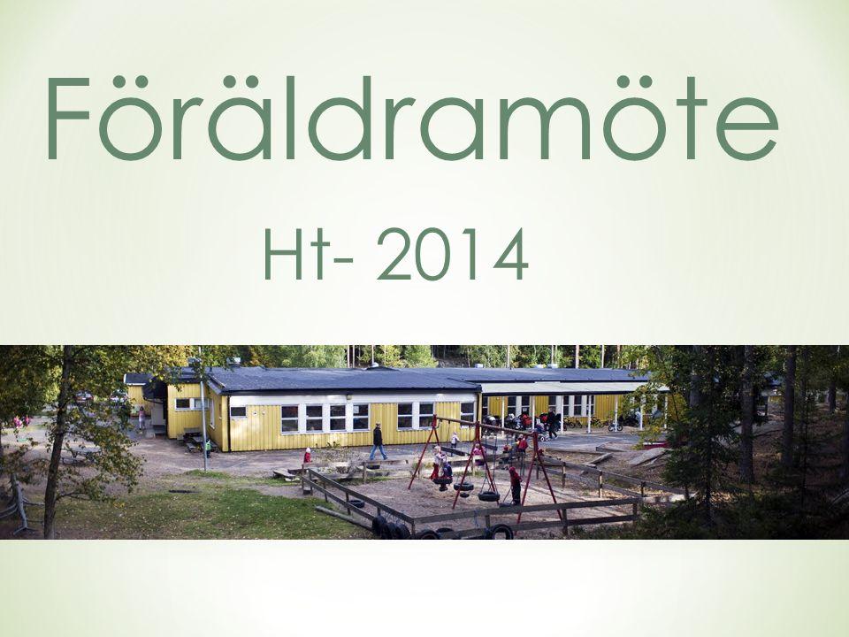 Föräldramöte Ht- 2014