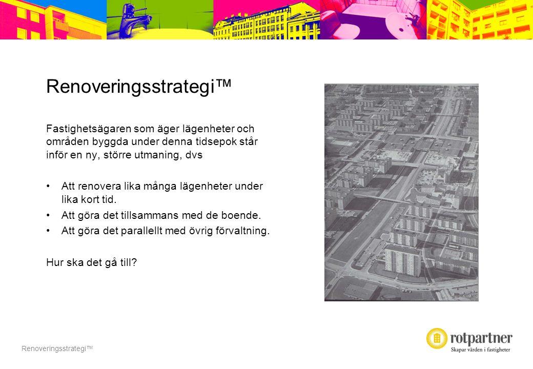 Renoveringsstrategi TM Renoveringsstrategi™