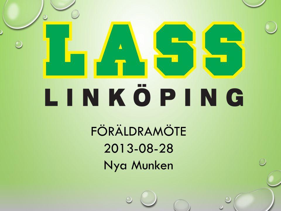 FÖRÄLDRAMÖTE 2013-08-28 Nya Munken
