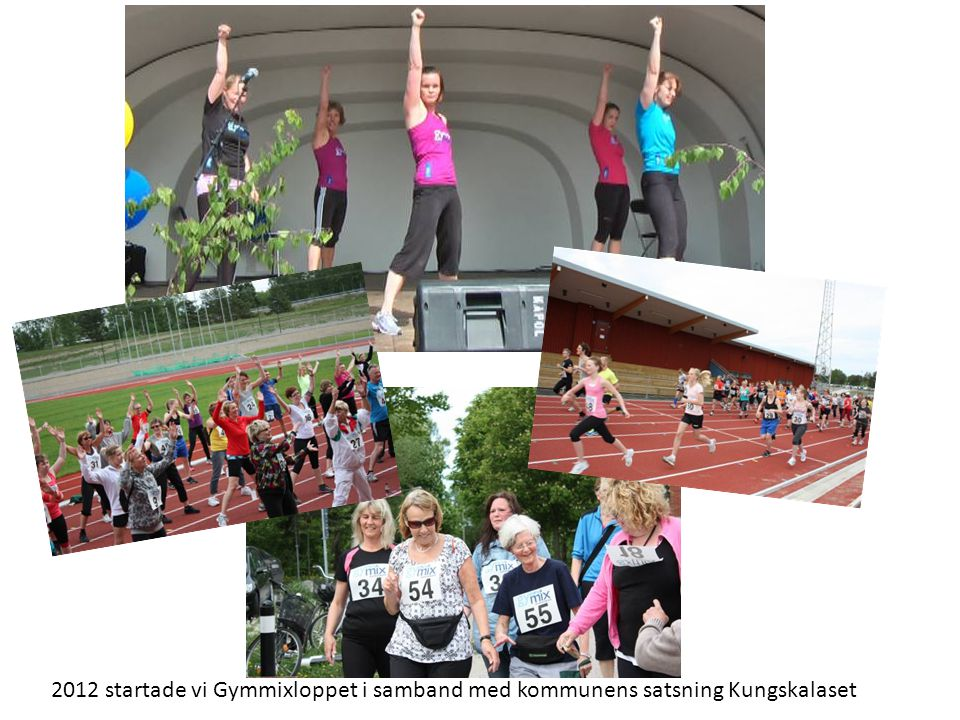 2012 startade vi Gymmixloppet i samband med kommunens satsning Kungskalaset