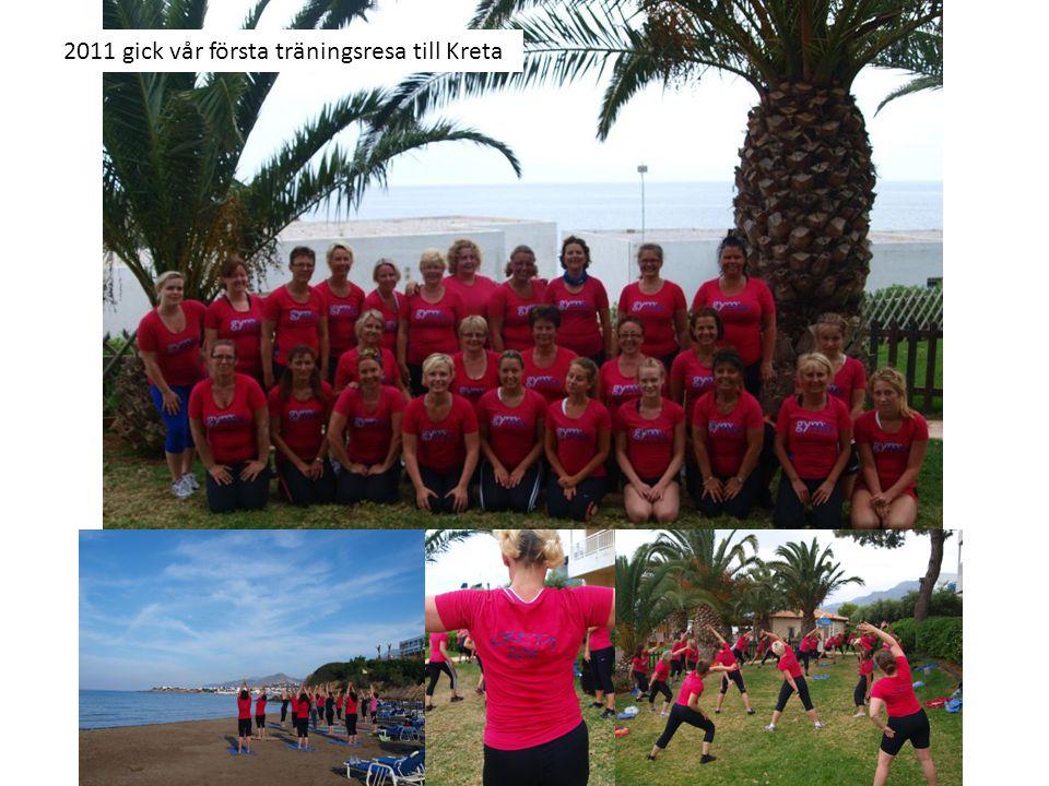 2011 gick vår första träningsresa till Kreta