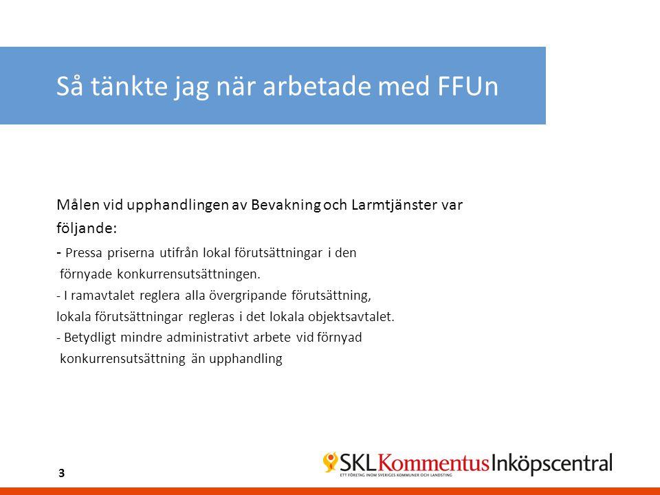 Förnyade konkurrensutsättningens steg (II) 5.