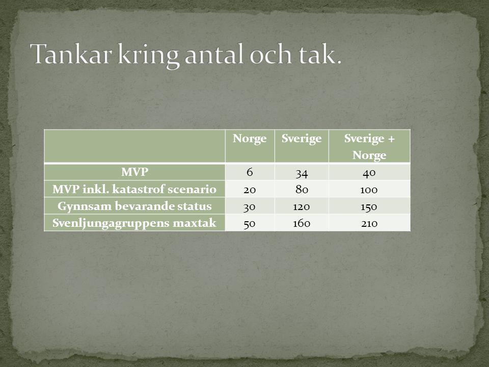 NorgeSverige Sverige + Norge MVP63440 MVP inkl.