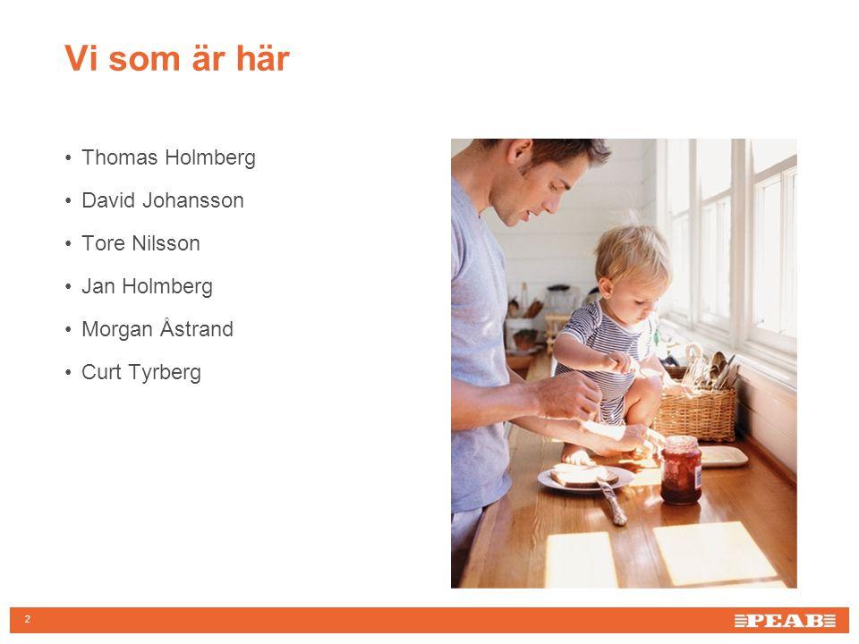 2 Vi som är här Thomas Holmberg David Johansson Tore Nilsson Jan Holmberg Morgan Åstrand Curt Tyrberg