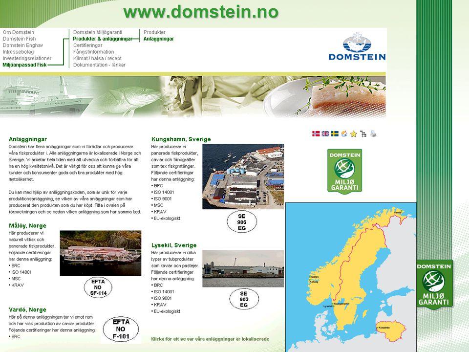 www.domstein.no Anläggningar