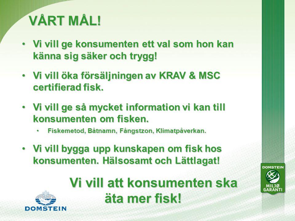 VÅRT MÅL.