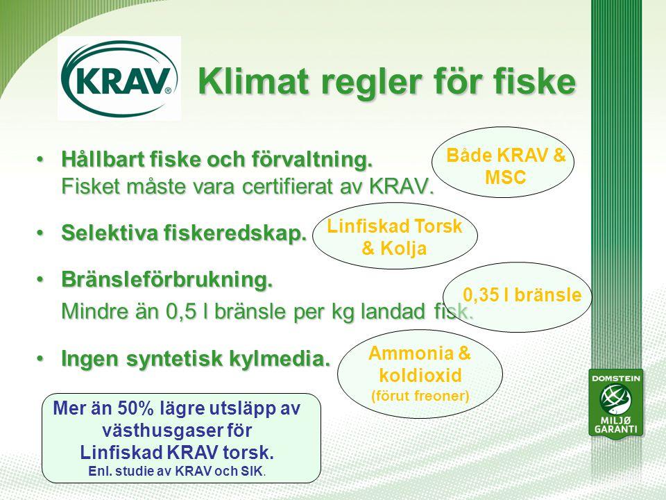 Klimat regler för fiske Klimat regler för fiske Hållbart fiske och förvaltning.