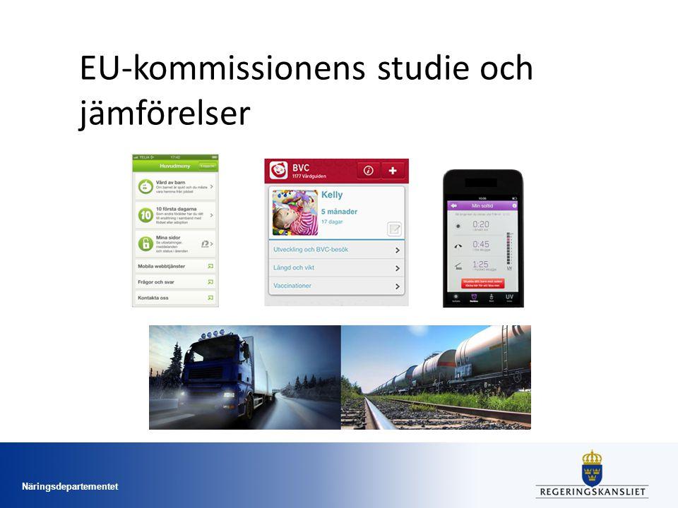 Näringsdepartementet EU-kommissionens studie och jämförelser