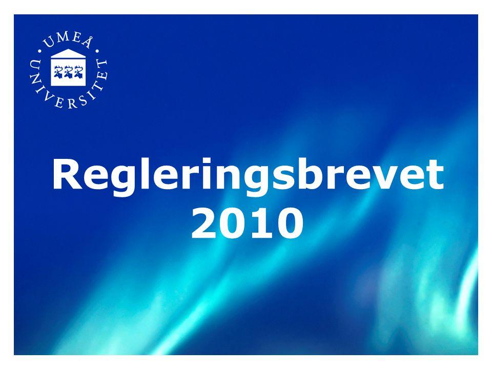 Regleringsbrevet 2010