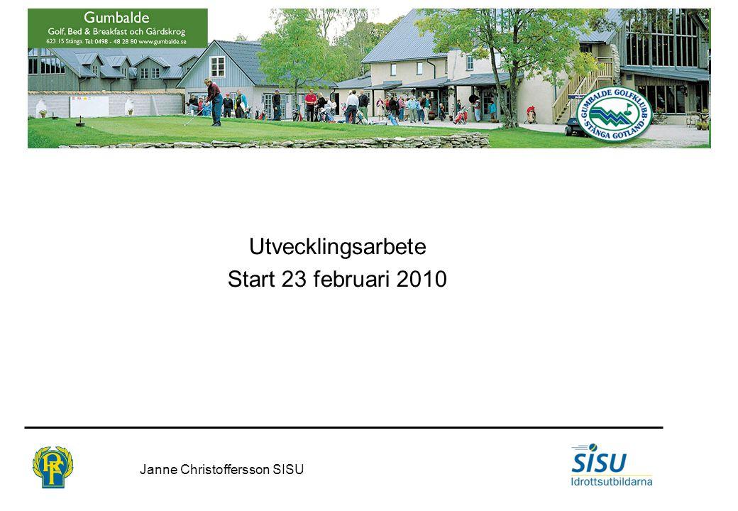 Bakgrund Enligt tidigare beslut och information på årsmötet 20091213 ska vi i Gumbalde GK revidera våra tidigare målsättningar.