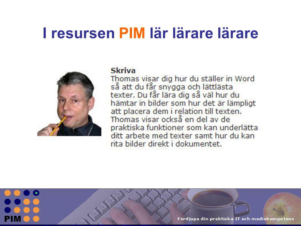 Studieanvisning för nivå 1 ABC HANTERA SKRIVA BILDER LJUD PRESENTERA PLANERA KOMMUNICERA SÖKA LÄROMEDIA VIDEO