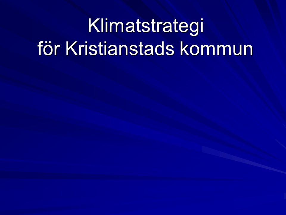 Bakgrund Arbete med energiplan hade pågått under lång tid Krav på att klimpansökan skulle innehålla en klimatstrategi Ingår som åtgärd för kommuner i miljöhandlingsprogram för Skåne Fördjupat miljömålsarbete för begränsad klimatpåverkan