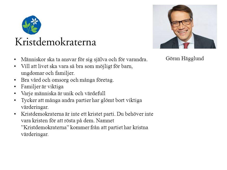 Gustav Fridolin & Åsa Romson Mot rasism Mot stora skillnader mellan fattiga och rika.