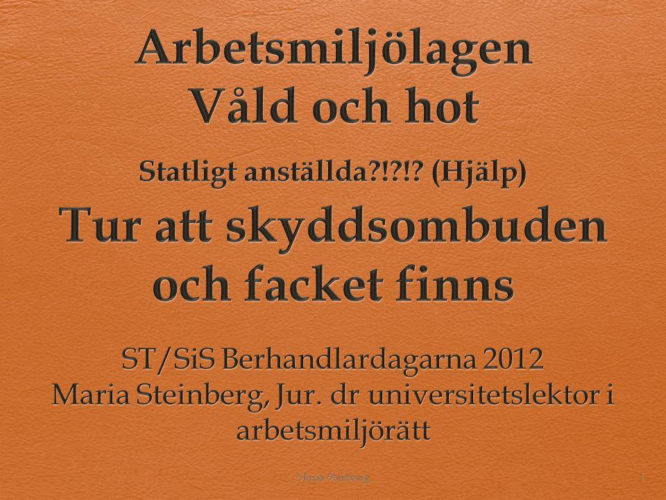 Upplägget 1.Bakgrund 2. Arbetsmiljölagen 3. Arbetsmiljöverkets föreskrifter (AFS) 4.