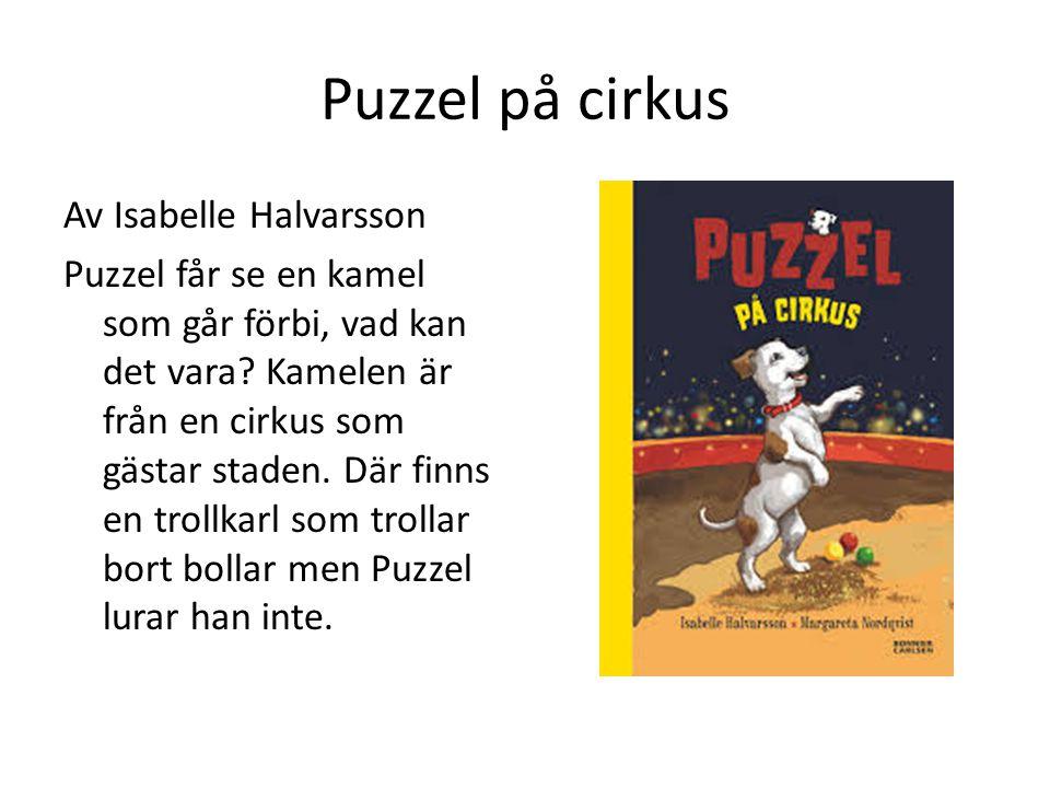 Puzzel på cirkus Av Isabelle Halvarsson Puzzel får se en kamel som går förbi, vad kan det vara? Kamelen är från en cirkus som gästar staden. Där finns