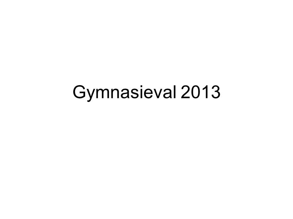Gymnasieval 2013