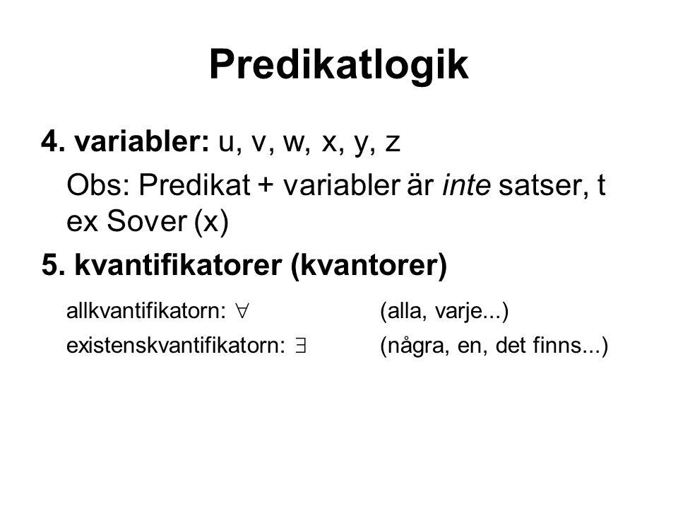 Predikatlogik 4.
