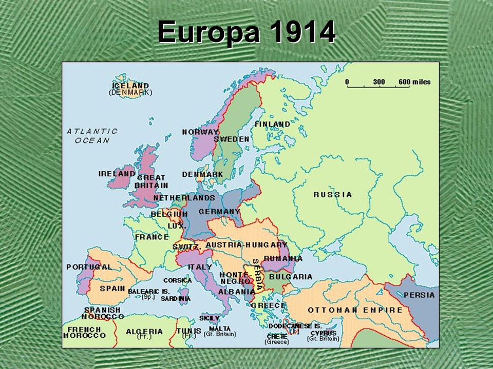 Allianserna Ententen Frankrike Storbritannien Ryssland Serbien Trippelalliansen (Centralmakterna) Tyskland Österrike-Ungern (Osmanska- riket)