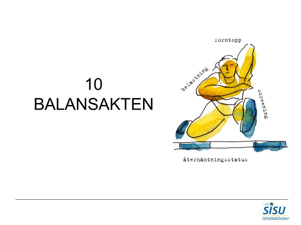 10 BALANSAKTEN