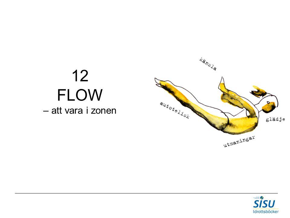 12 FLOW – att vara i zonen