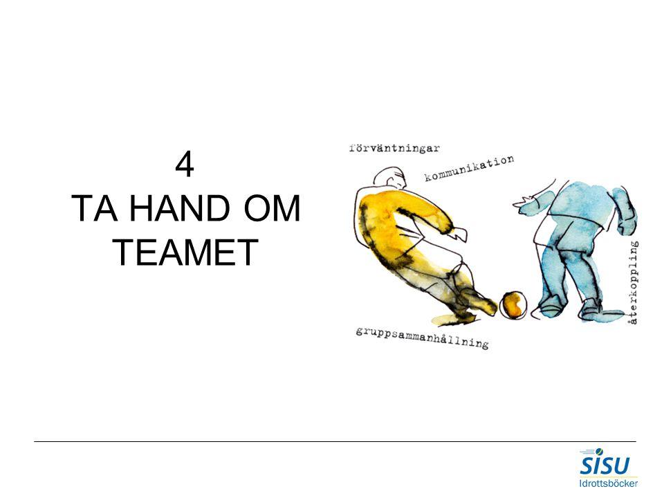 4 TA HAND OM TEAMET