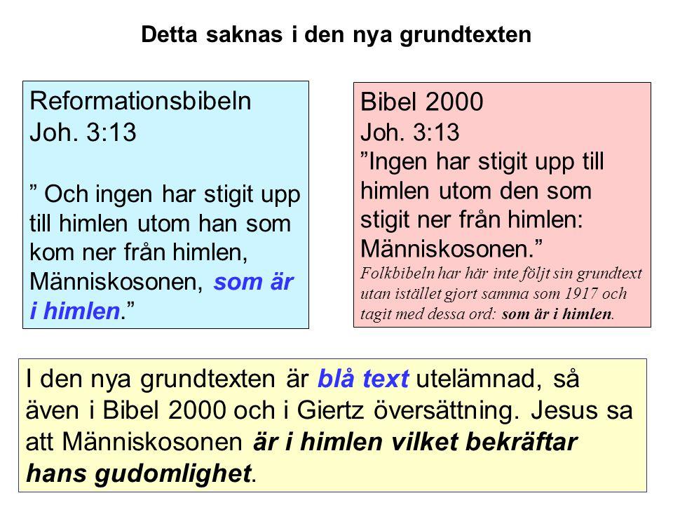 Bibel 2000 Joh.