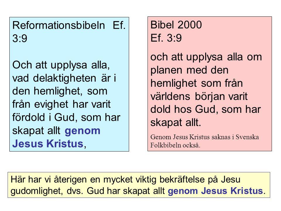 Bibel 2000 Ef.