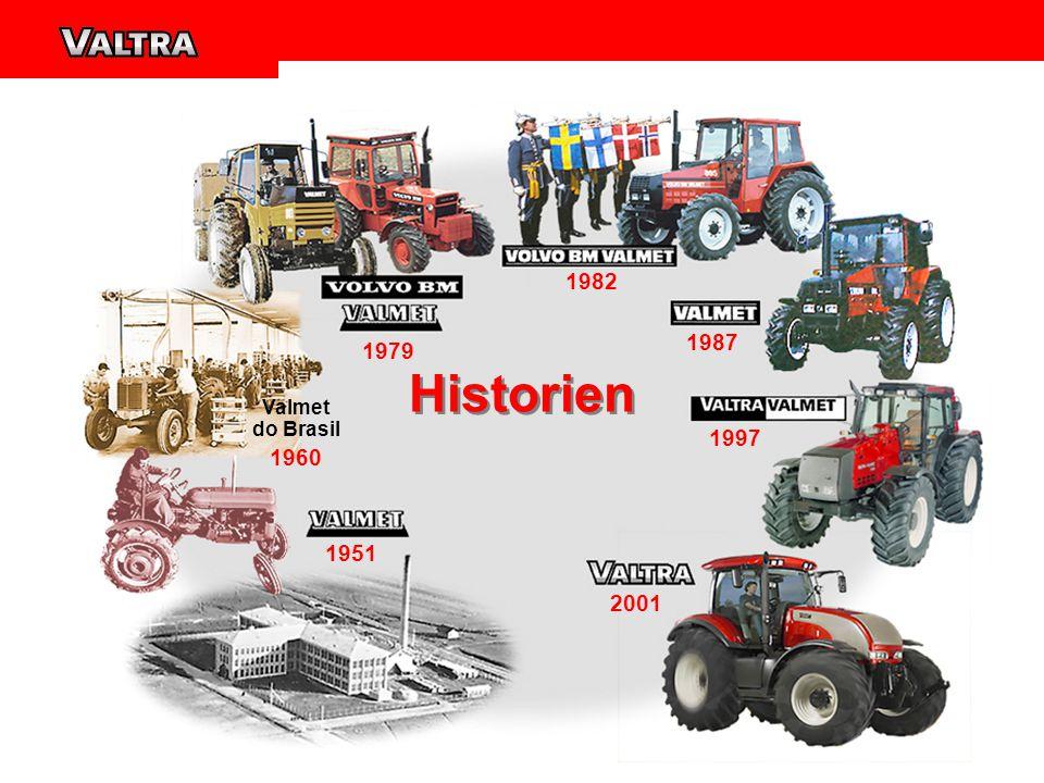 1951 1979 1982 1987 1997 2001 Valmet do Brasil 1960 Historien