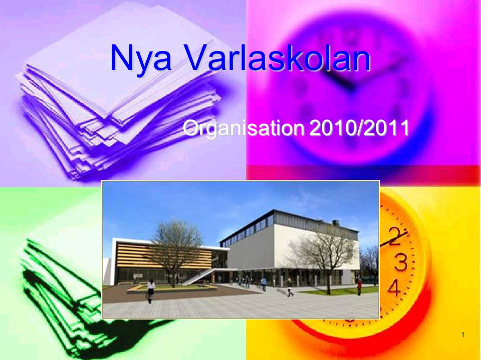 1 Nya Varlaskolan Organisation 2010/2011