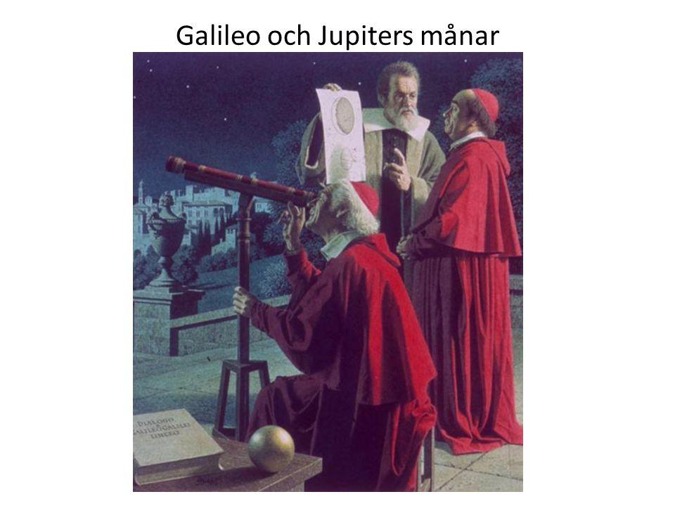 Galileo och Jupiters månar