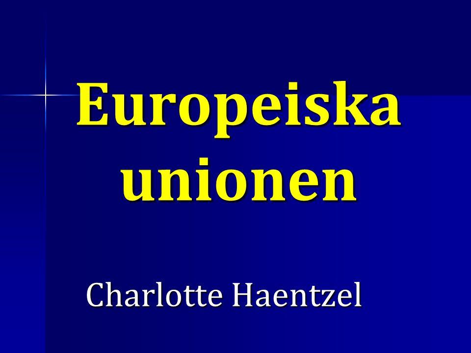 Europeiska unionen Charlotte Haentzel