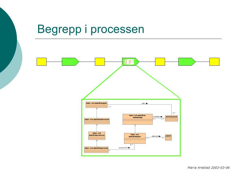 Begrepp i processen Maria Areblad 2003-03-06