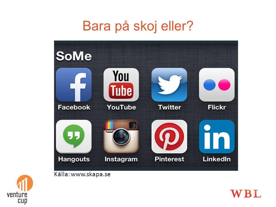 Bara på skoj eller? Källa: www.skapa.se
