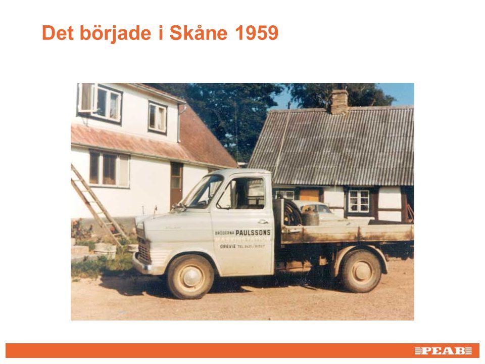 Det började i Skåne 1959 Bild från AnnCi