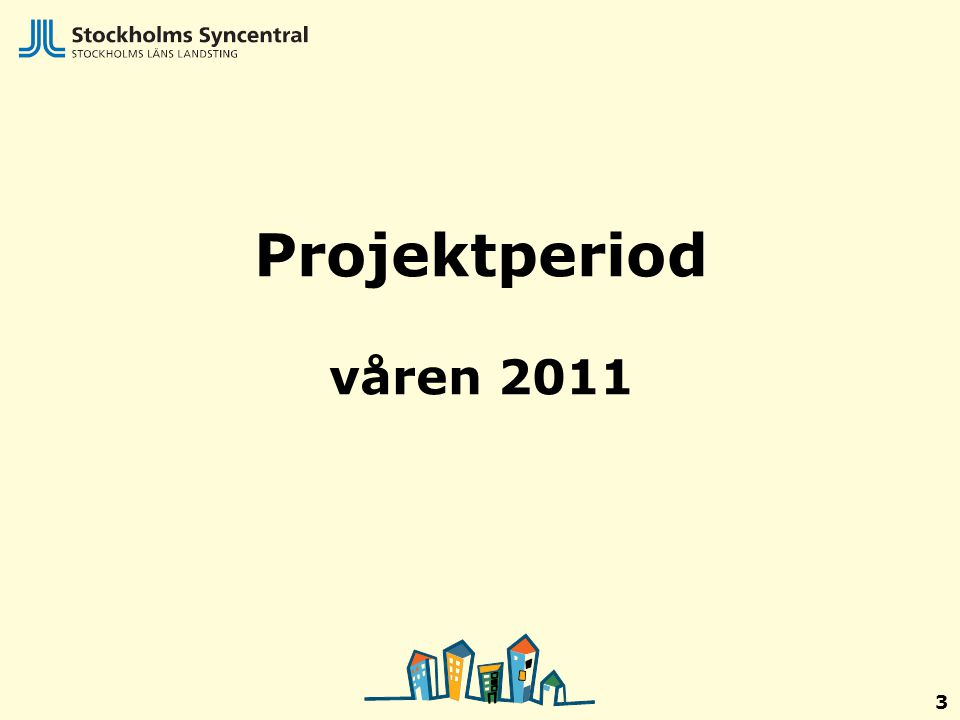 Projektperiod våren 2011 3