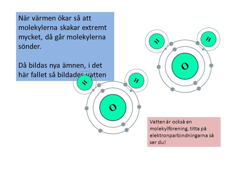 Kommer du ihåg 1.Hur binder atomerna i molekylföreningar ihop.