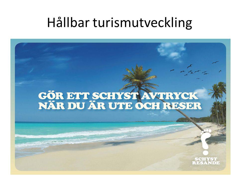 Hållbar turismutveckling