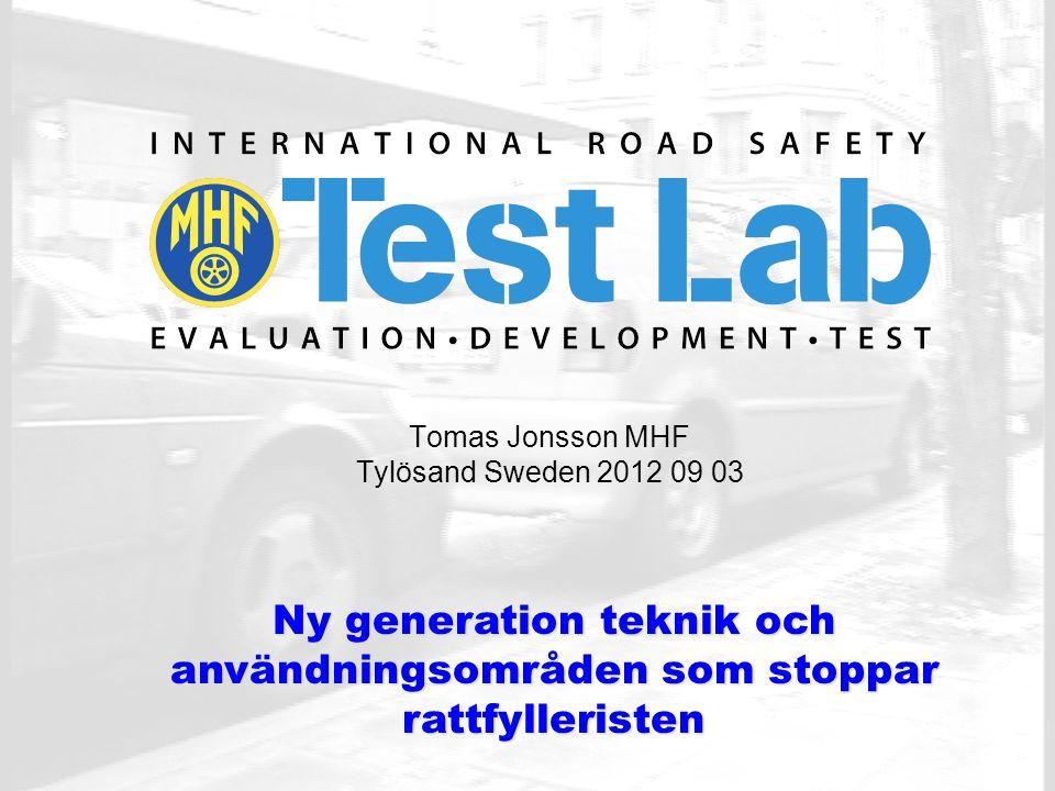 Eget ackrediterat laboratorium: Eget ackrediterat laboratorium: Ackrediterade labbtester för alkolås enligt En 50436-1 och En 50436-2 samt tester av alkoholmätare för professionellt bruk enligt En 15964.