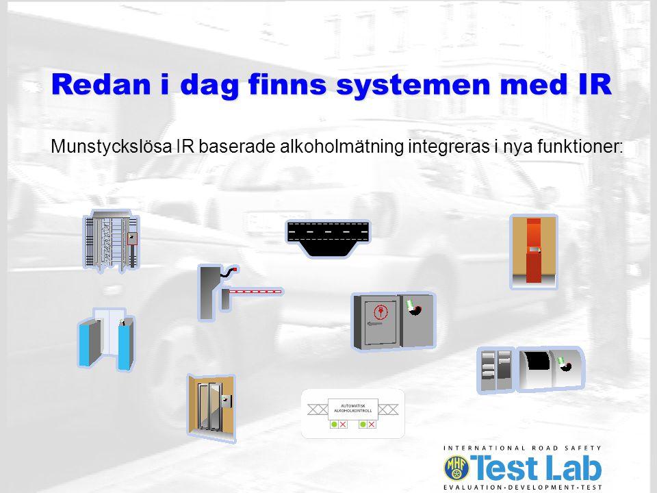 Tre nya system visas på Tylösand Munstyckslös IR alkoholmätning med loggning och identifiering.