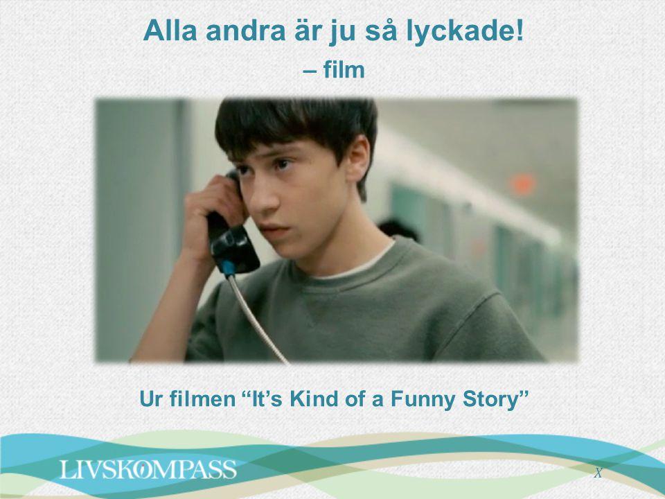 """Alla andra är ju så lyckade! – film Ur filmen """"It's Kind of a Funny Story"""" X"""