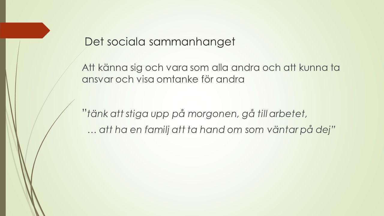 Socialstyrelsen (2009) betonar att större uppmärksamhet behöver fästas på relationer och interaktioner mellan patienten i rättspsykiatrisk vård och hans/hennes familj.