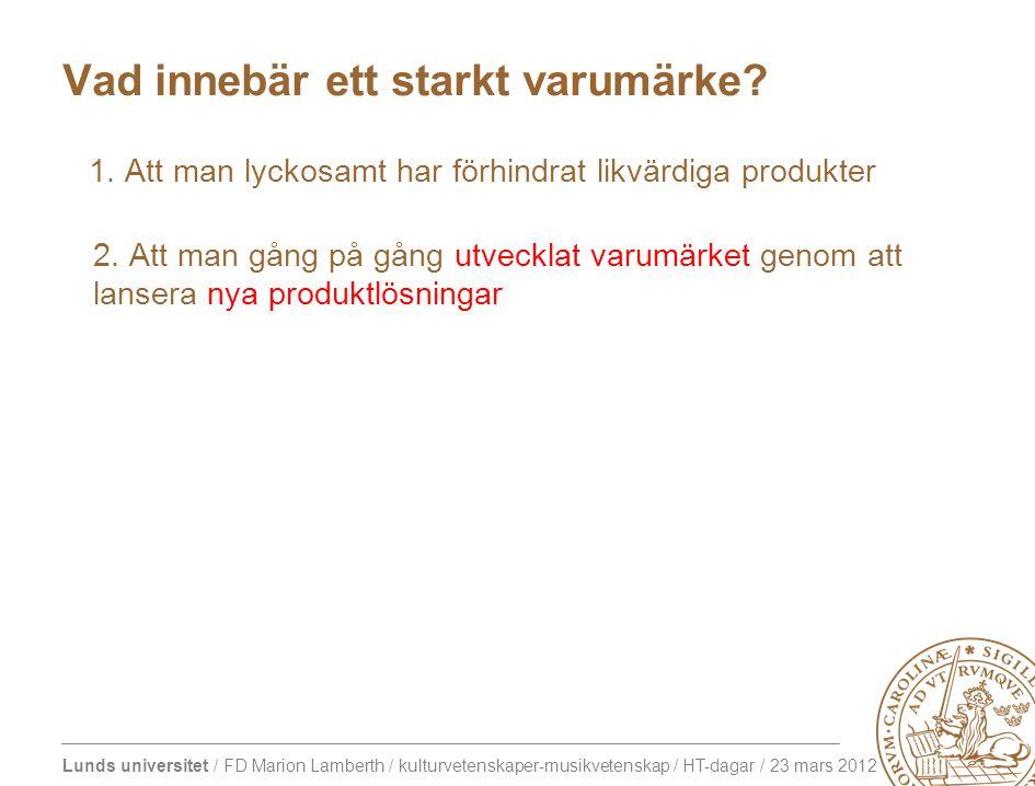 Lunds universitet / FD Marion Lamberth / kulturvetenskaper-musikvetenskap / HT-dagar / 23 mars 2012 Porträttgalleri