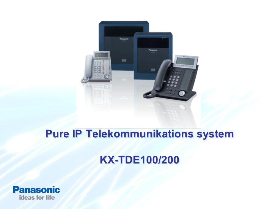 Pure IP Telekommunikations system KX-TDE100/200